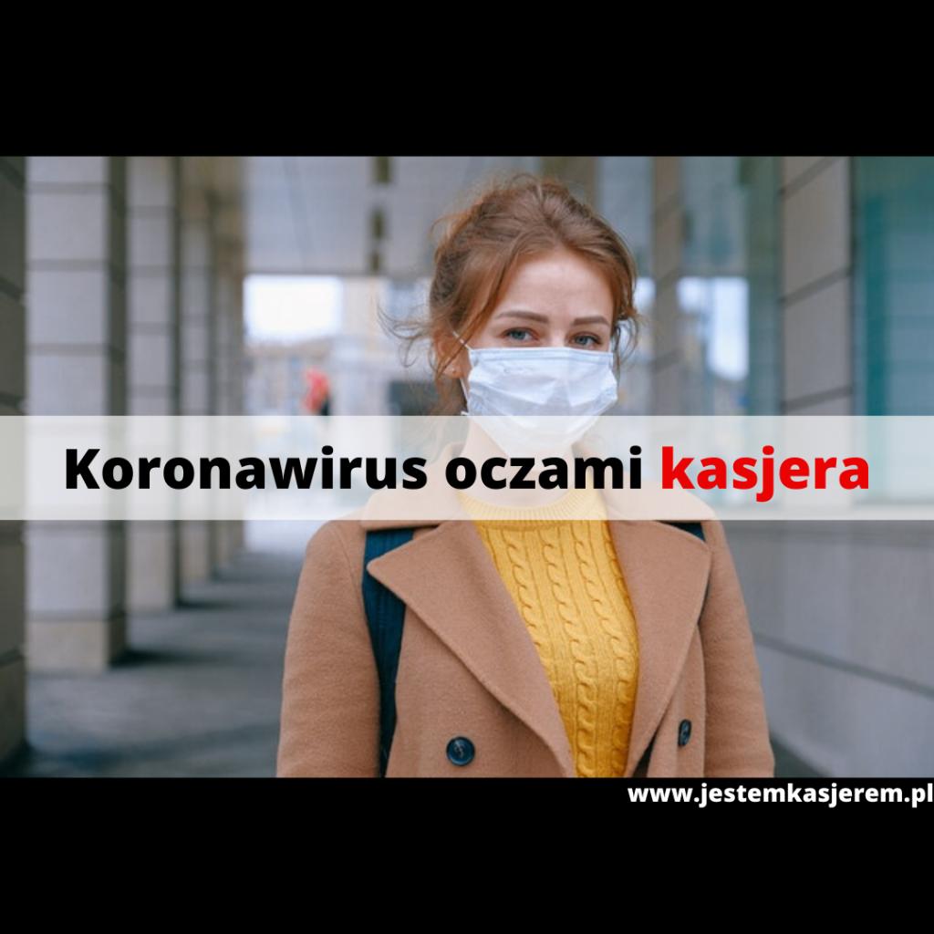 koronawirus oczami kasjera